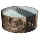 Skyline Design Drone Round Outdoor Coffee Table - Item Number: 23194+G