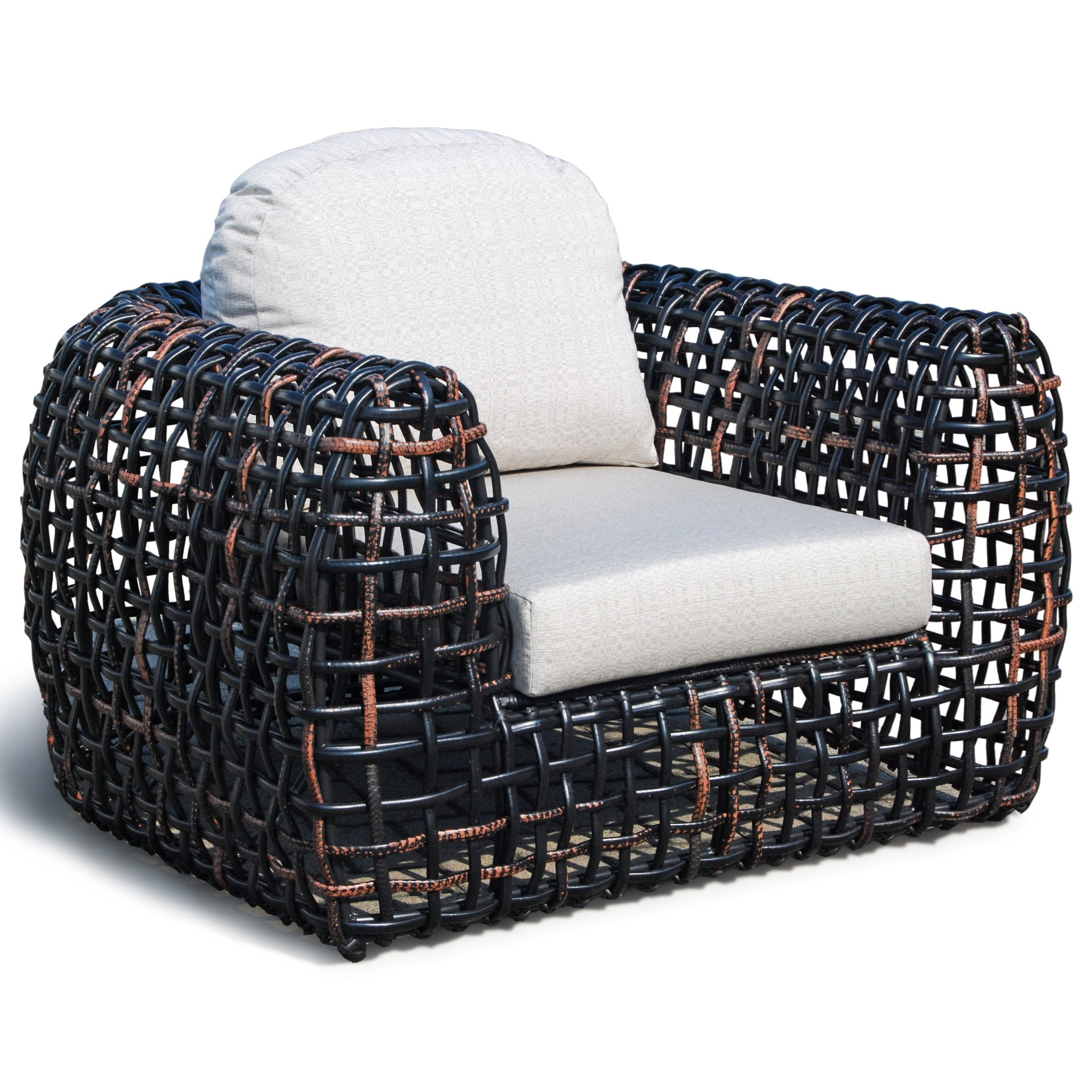 Skyline Design Dynasty Outdoor Armchair With Open Weave Baer 39 S Furniture Outdoor Upholstered