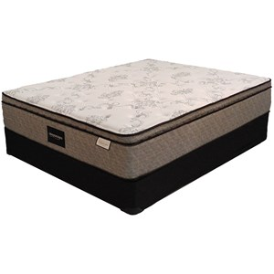 "Sleep Designs Duncan Euro Top Twin 12 3/4"" Euro Pillow Top Mattress Set"