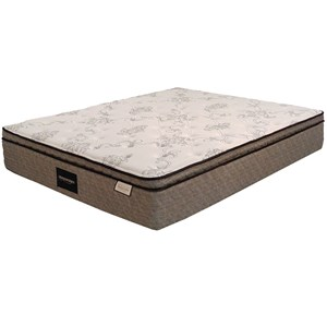 "Sleep Designs Duncan Euro Top Queen 12 3/4"" Euro Pillow Top Mattress"