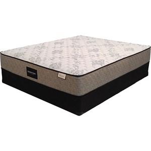 Sleep Designs Edison Firm Queen Firm Pocketed Coil Mattress Set