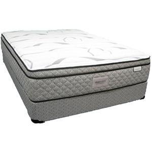 Sleep Designs Llano King Euro Pillow Top Mattress