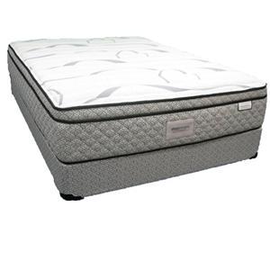 Sleep Designs Redwood Full Euro Pillow Top Mattress