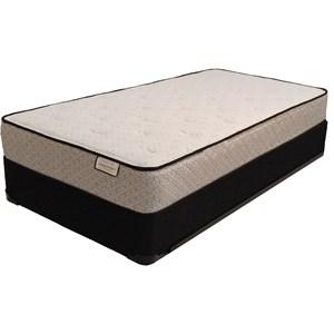 "Sleep Designs Topaz Plush Full 8 3/4"" Plush Innerspring Mattress Set"