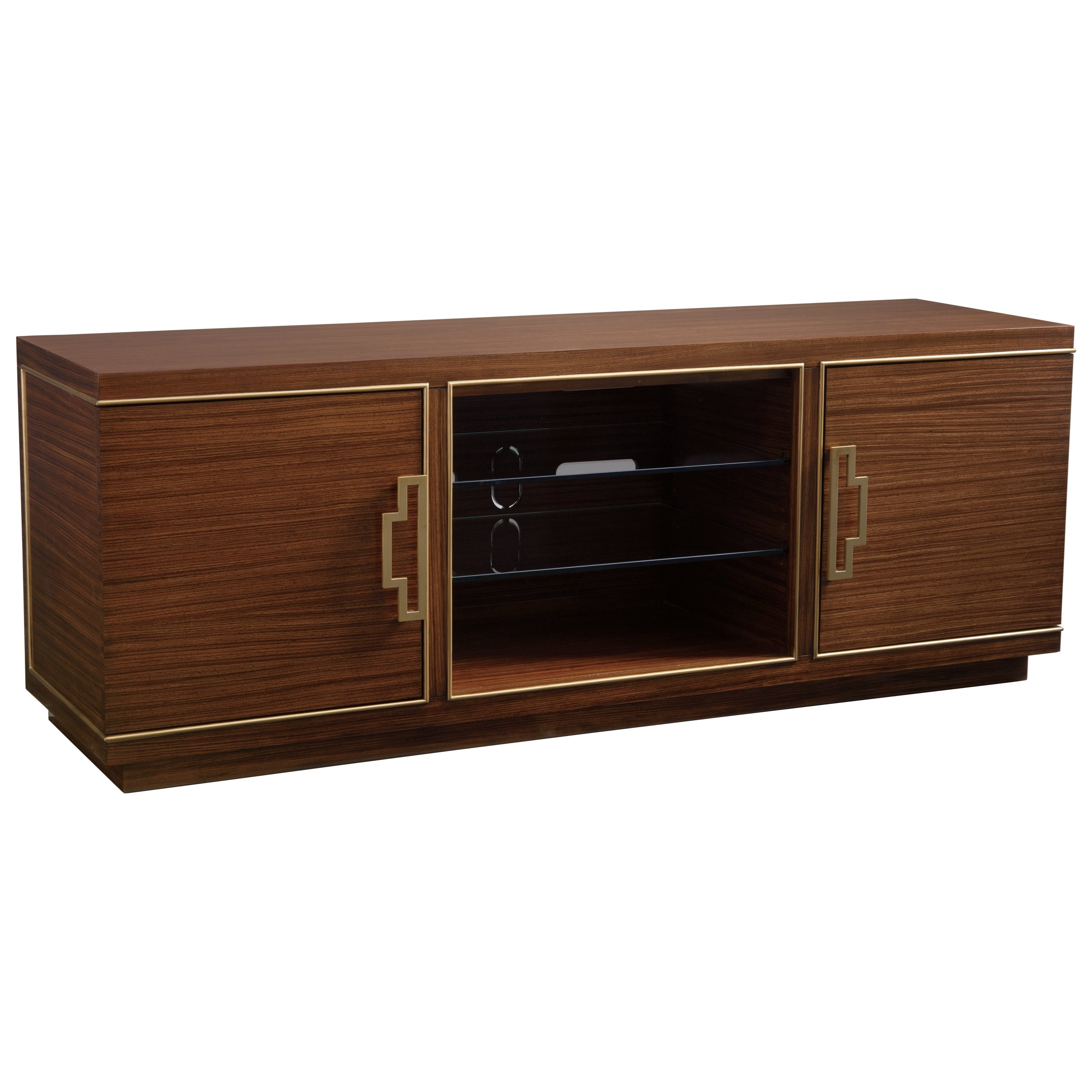 Aventura Media Console by Sligh at Baer's Furniture