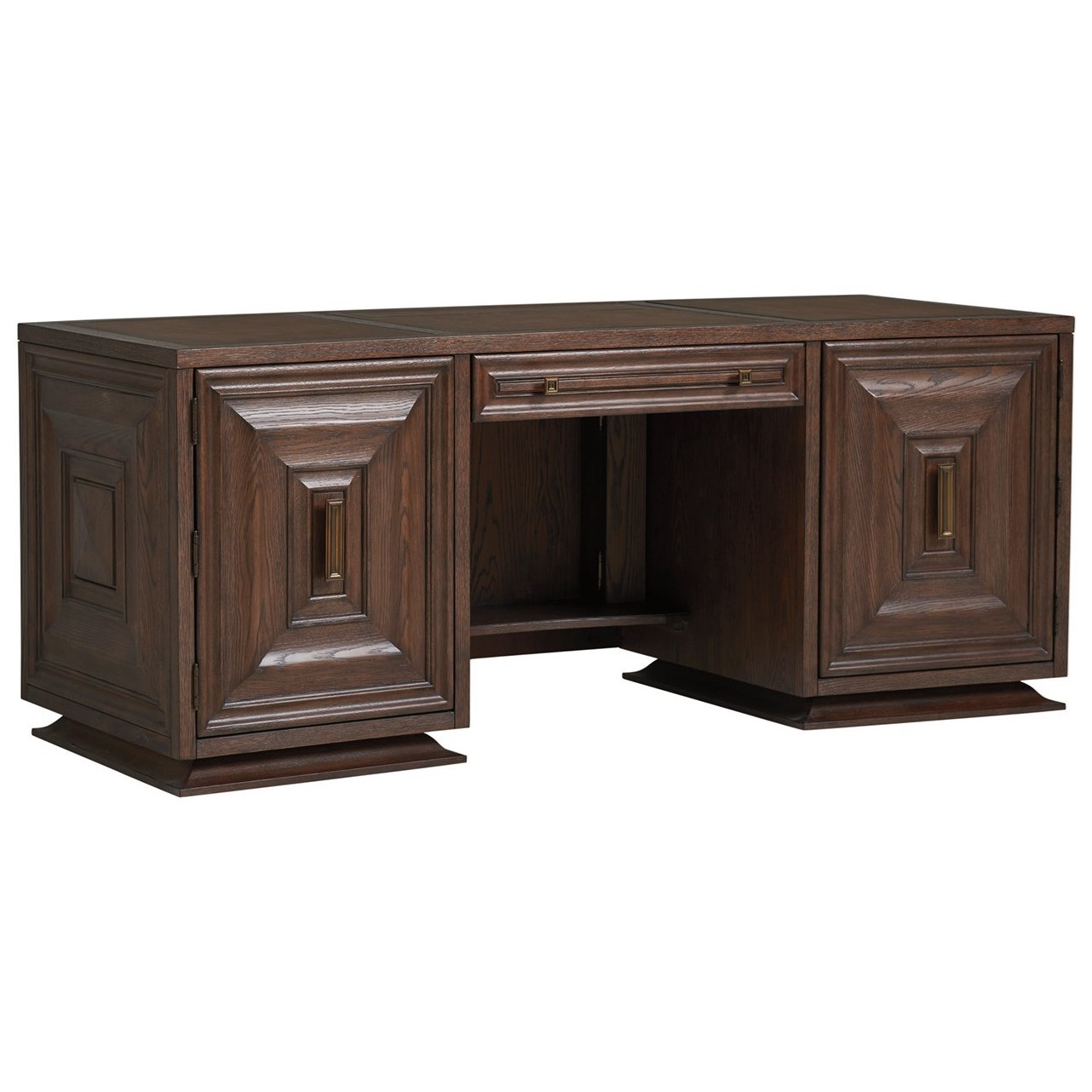 Barrymore Carson Executive Desk by Sligh at Baer's Furniture