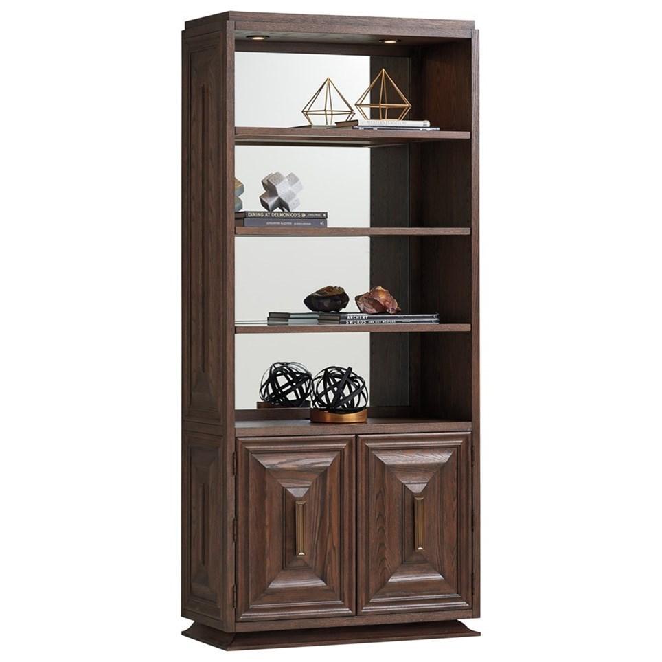 Barrymore Landry Bookcase by Sligh at Baer's Furniture