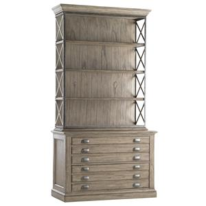 Johnson File Chest with Deck