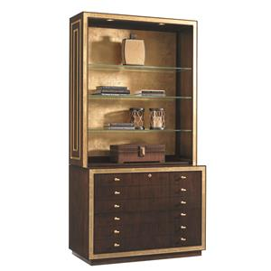 Sligh Bel Aire Beverly Palms Deck and File Cabinet Combo