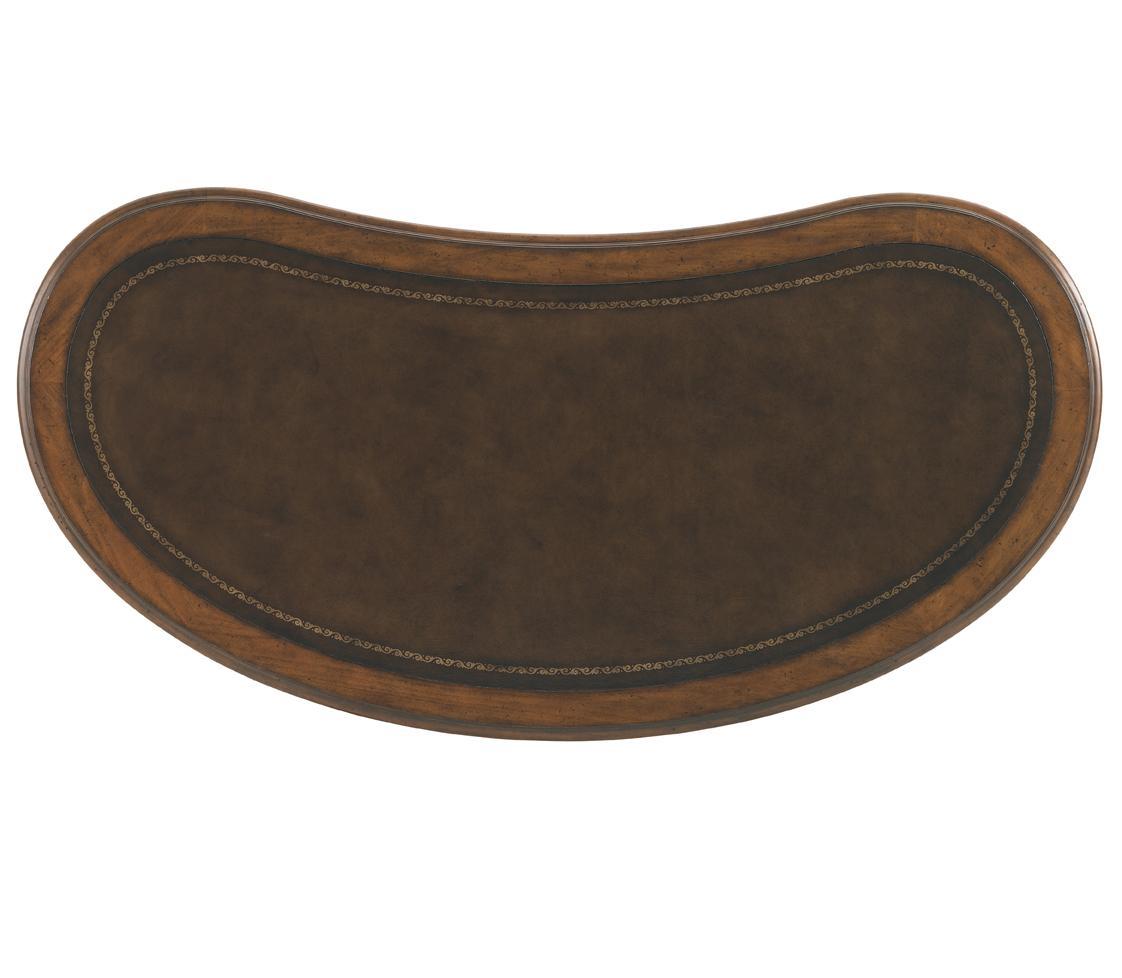 Sligh Breckenridge Telluride Kidney Desk With Leather Top