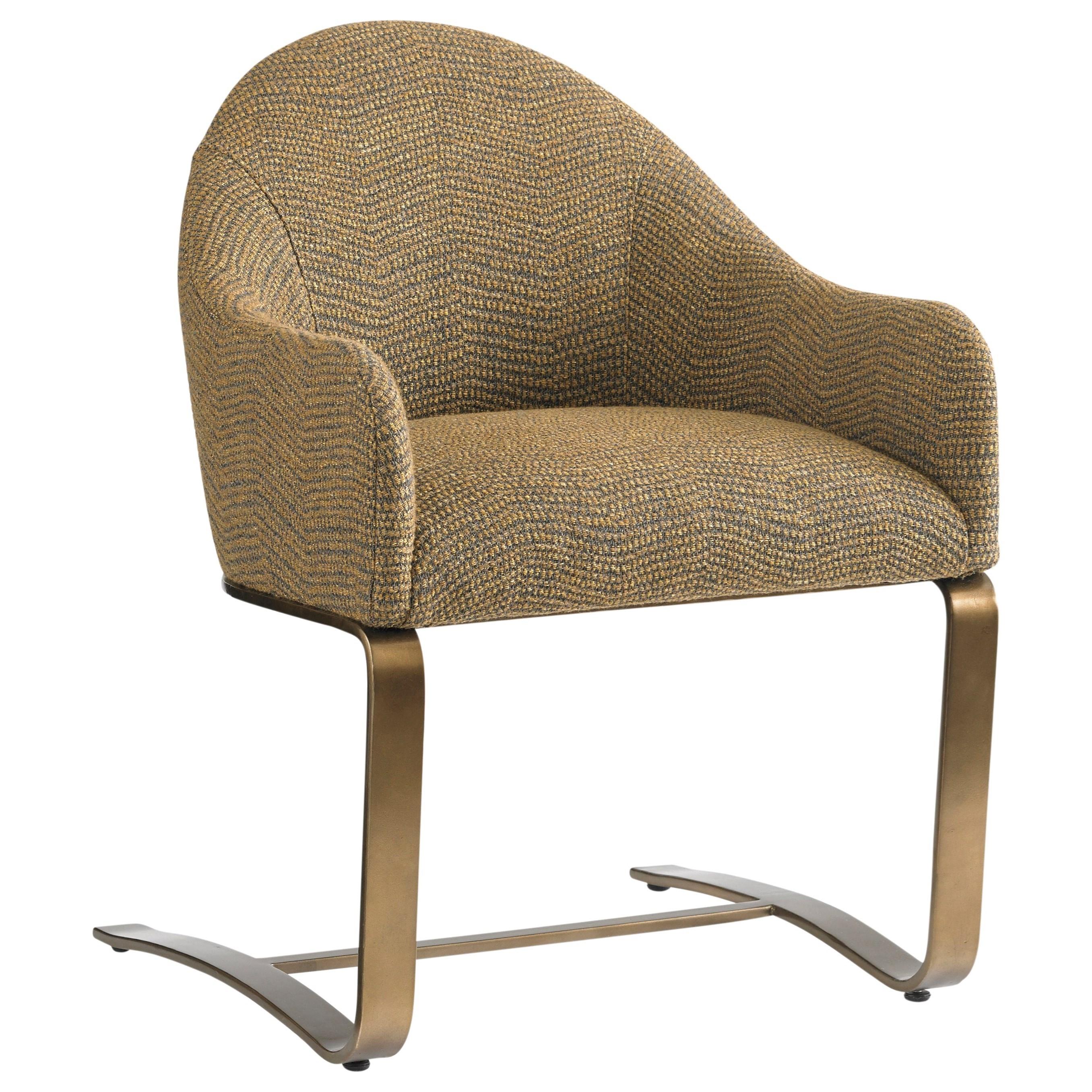Sligh Cross Effect 190 438 Contemporary Upholstered Desk