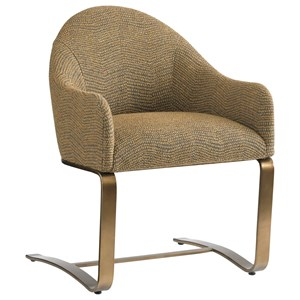 Sligh Cross Effect Modern Desk Chair