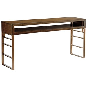 Sligh Cross Effect Modern Office Console