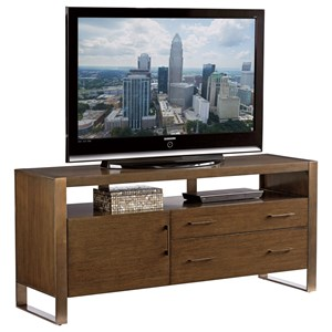 Sligh Cross Effect Modern Media Console