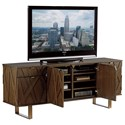 Sligh Cross Effect Contemporary 5-Drawer Media Center with File Drawer