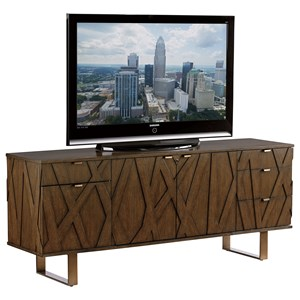 Sligh Cross Effect Modern Media Center with SmartEye