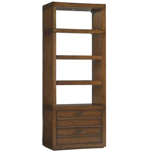 Sligh Longboat Key Crystal Sands Bookcase