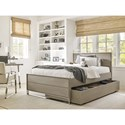 Smartstuff Axis Full Reading Bed with Trundle