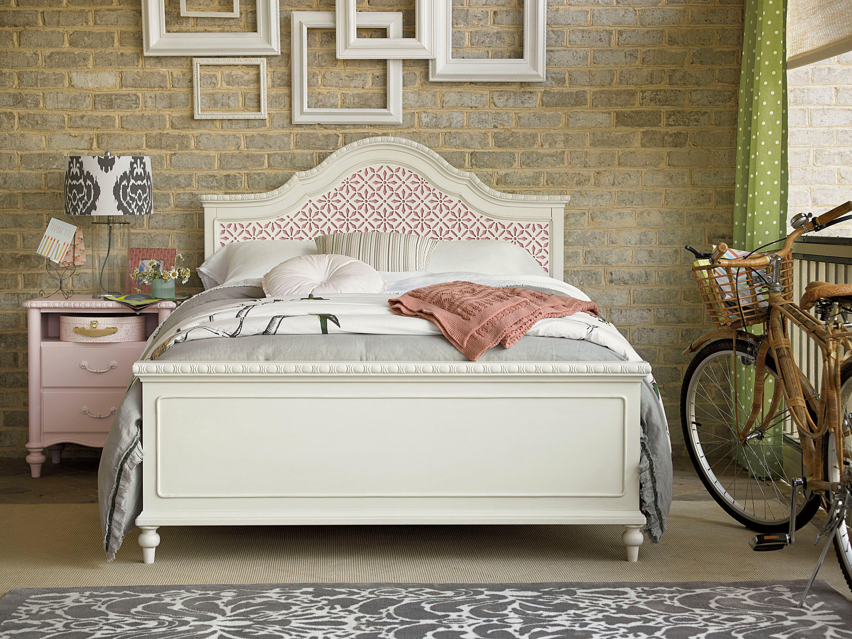 Smartstuff Bellamy Full Trellis Bed Bedroom Group - Item Number: 330A F Bedroom Group 3