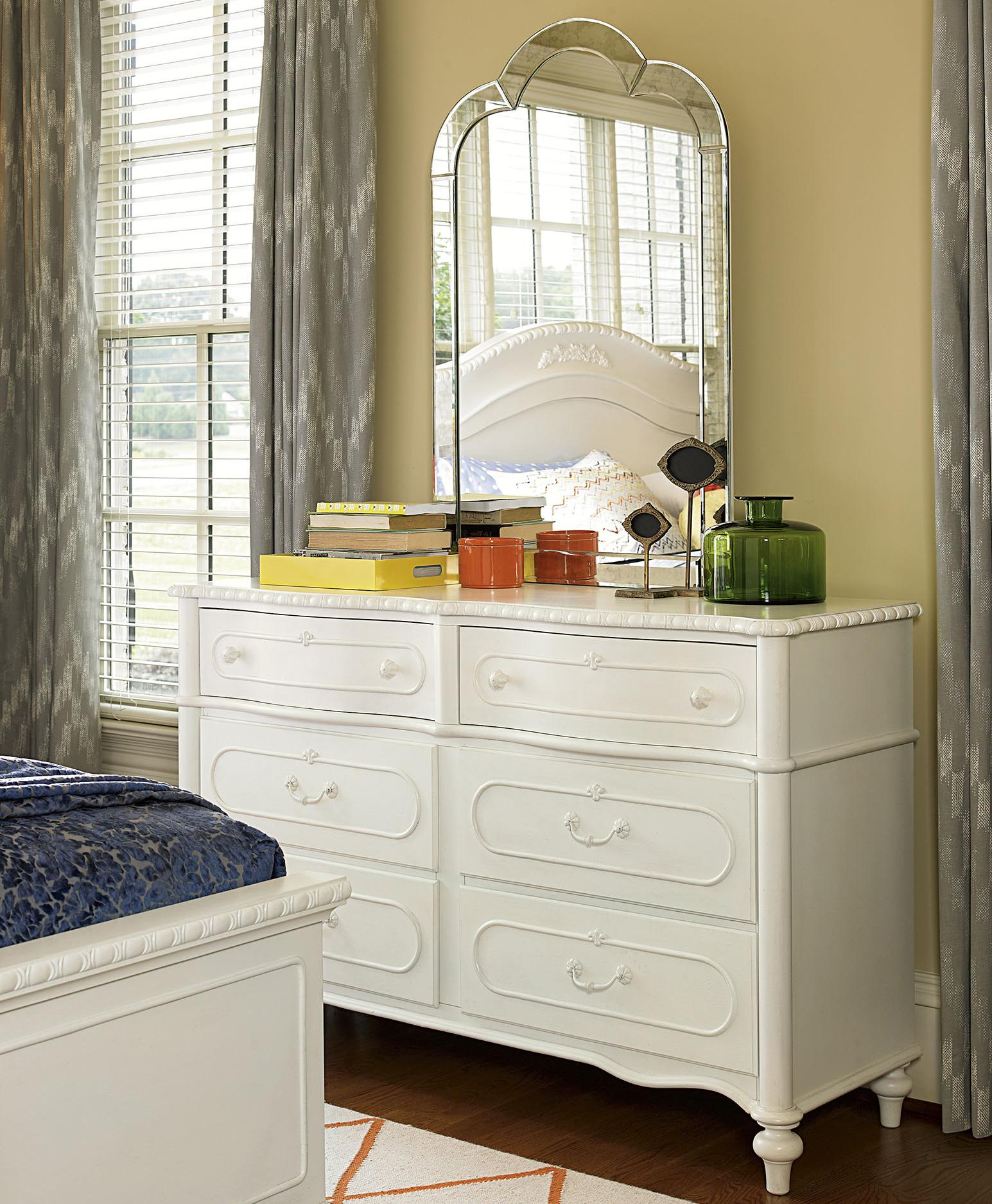 Smartstuff Bellamy Dresser and Mirror - Item Number: 330A002+330A030