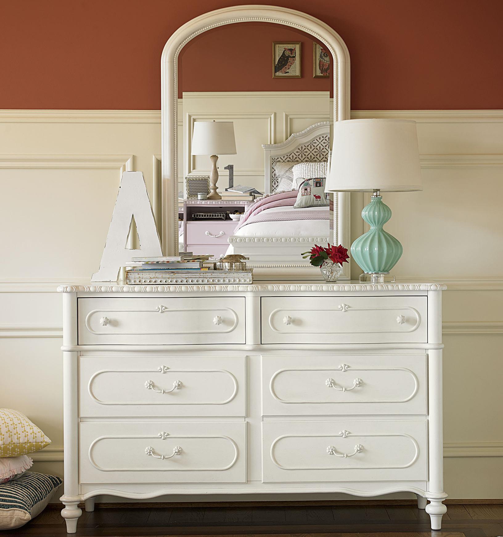 Smartstuff Bellamy Dresser and Mirror - Item Number: 330A002+330A031