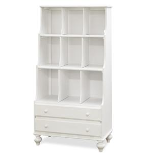 Smartstuff Black and White Bookcase