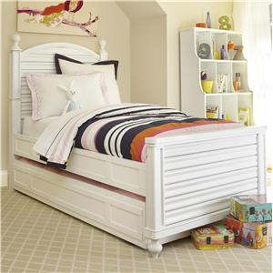 Universal Kids Smartstuff Black and White Twin Bed