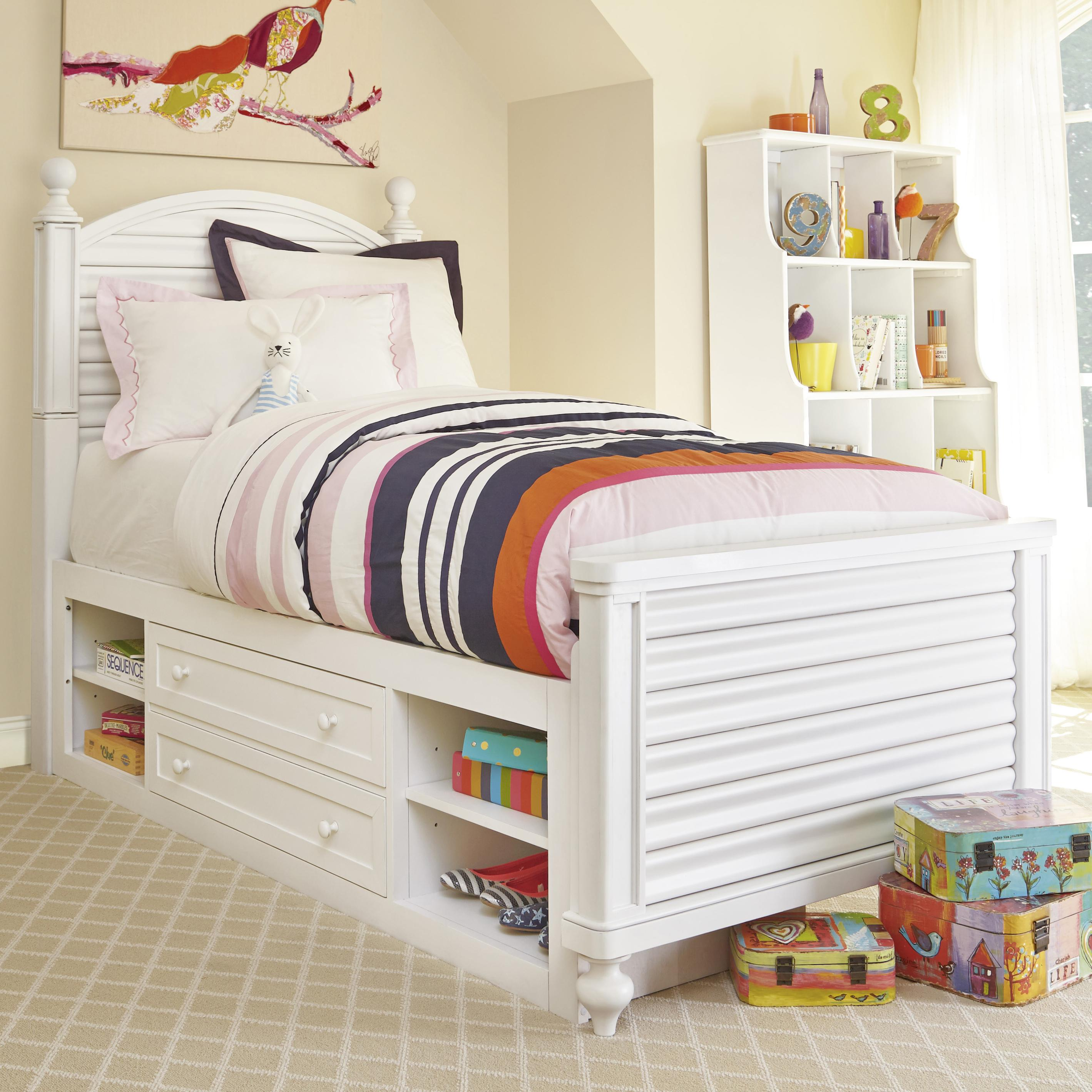 Smartstuff Black and White Twin Bed - Item Number: 437A038+061