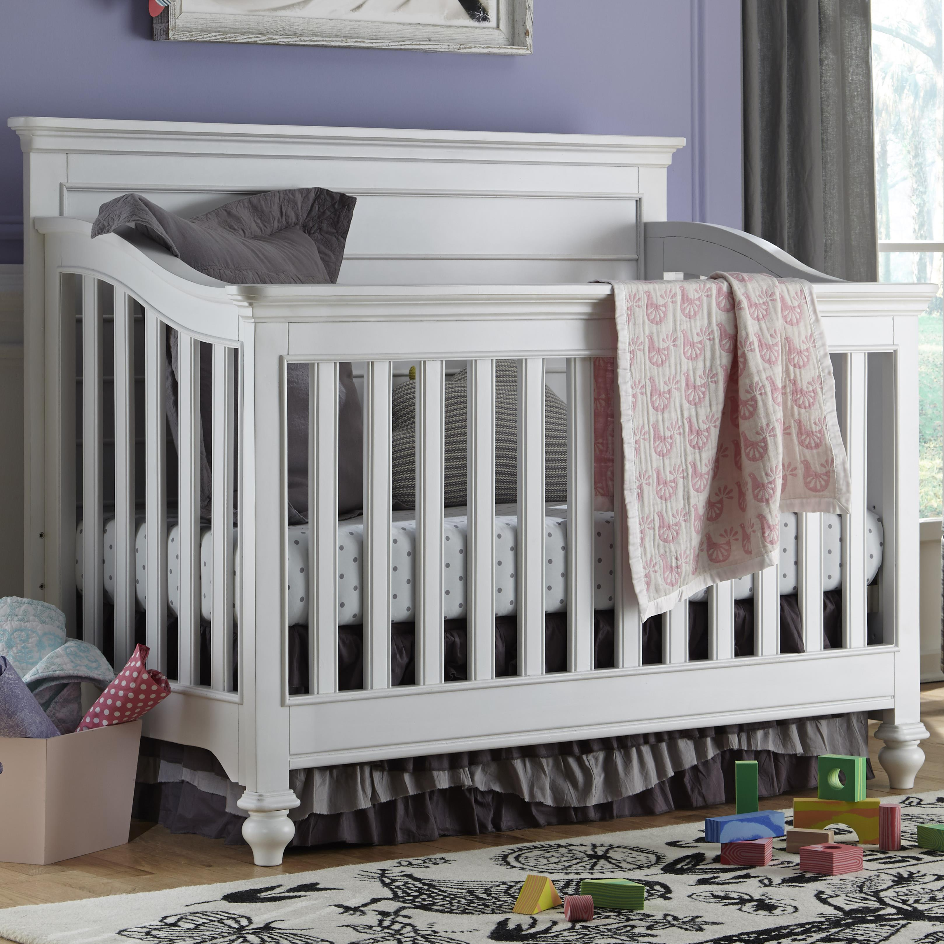 Smartstuff Black and White Convertible Crib - Item Number: 437A310