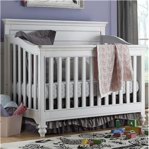 Universal Kids Smartstuff Black and White Convertible Crib
