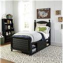 Morris Home Furnishings Anaheim Twin Bedroom Group - Item Number: 437B T Bedroom Group 4