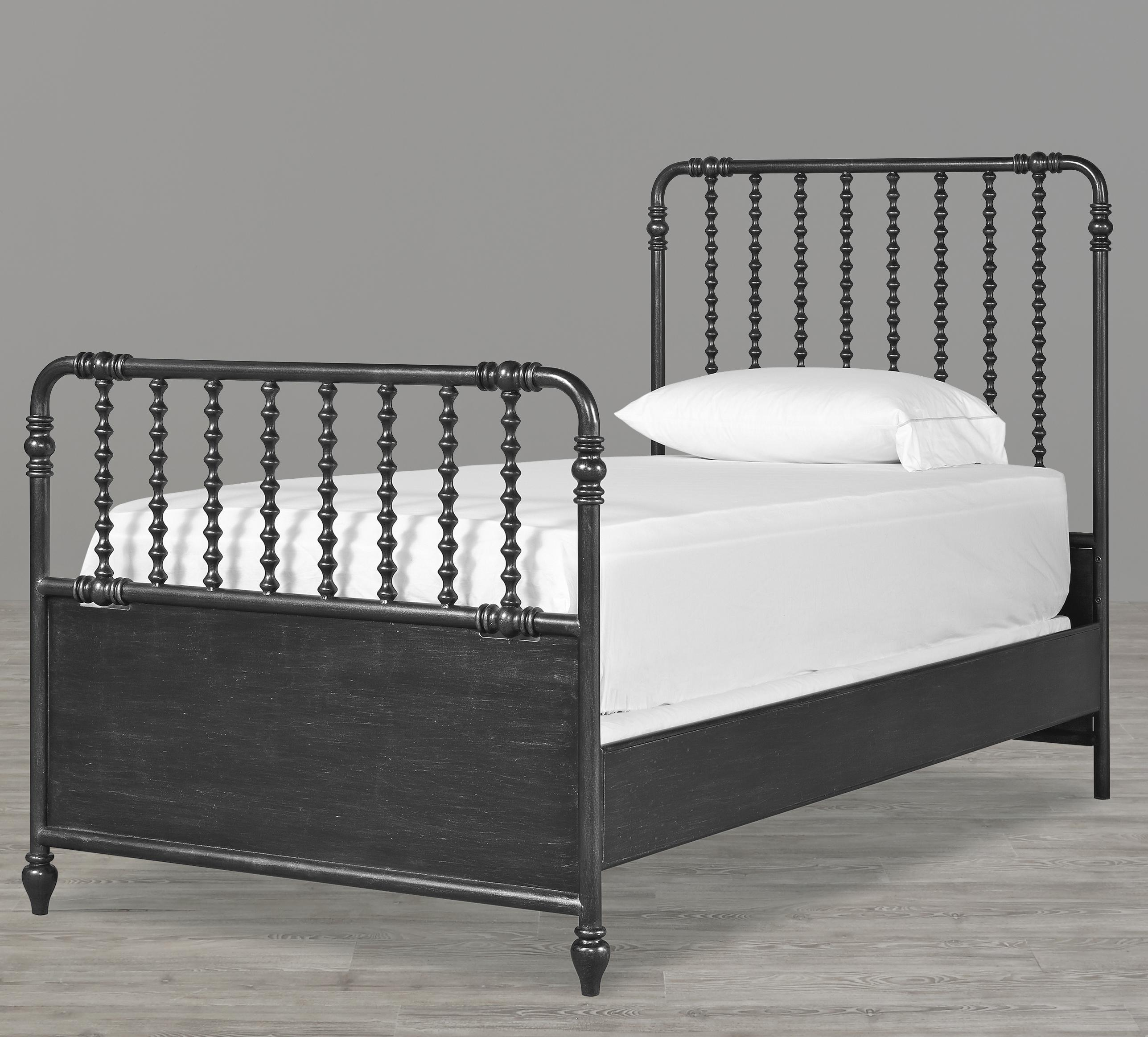 Smartstuff Black and White Twin Bed - Item Number: 437B035