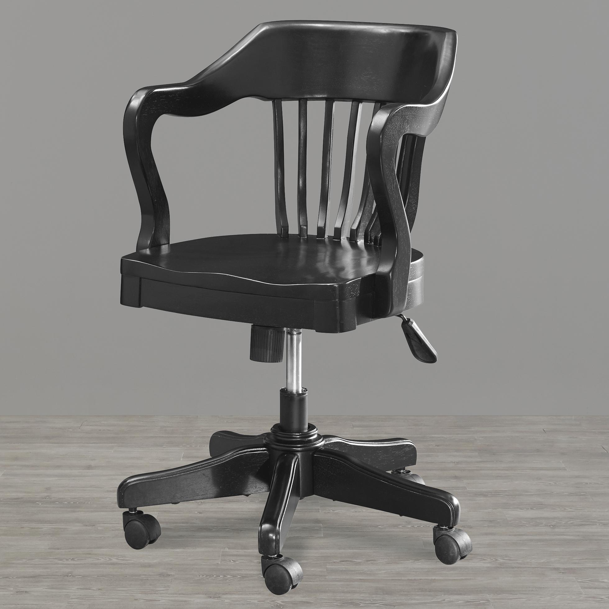 Smartstuff Black and White Desk Chair - Item Number: 437B071
