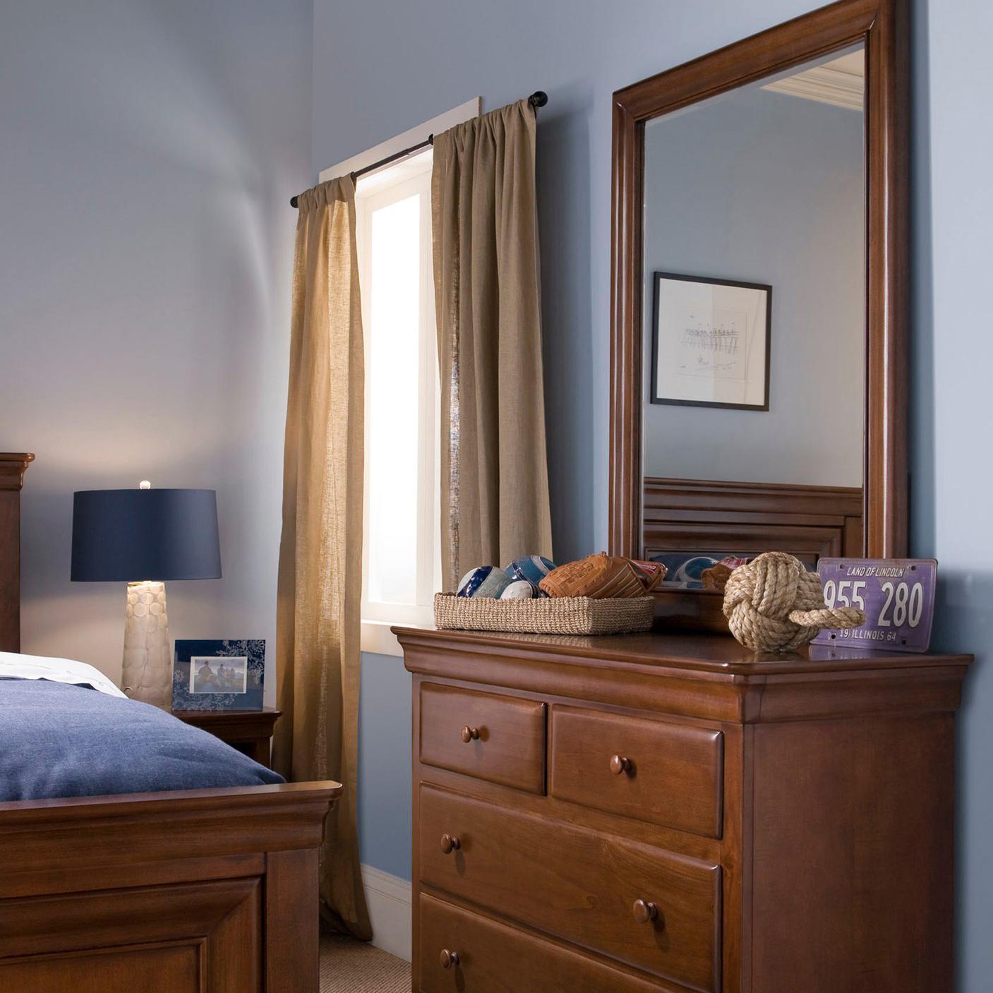 Smartstuff Classics 4.0 Single Dresser & Mirror - Item Number: 1311001+032