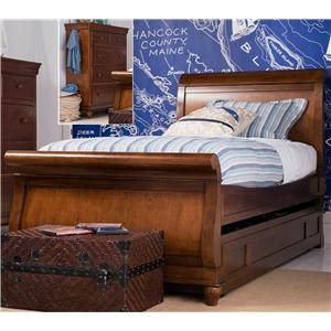 Morris Home Furnishings Sherwood Full Trundle Sleigh Bed