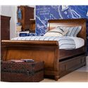 Smartstuff Classics 4.0 Full Trundle Sleigh Bed - Item Number: 1311041+060