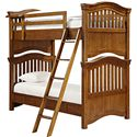 Universal Kids Smartstuff Classics 4.0 Twin Bunk Bed - Item Number: 1311530