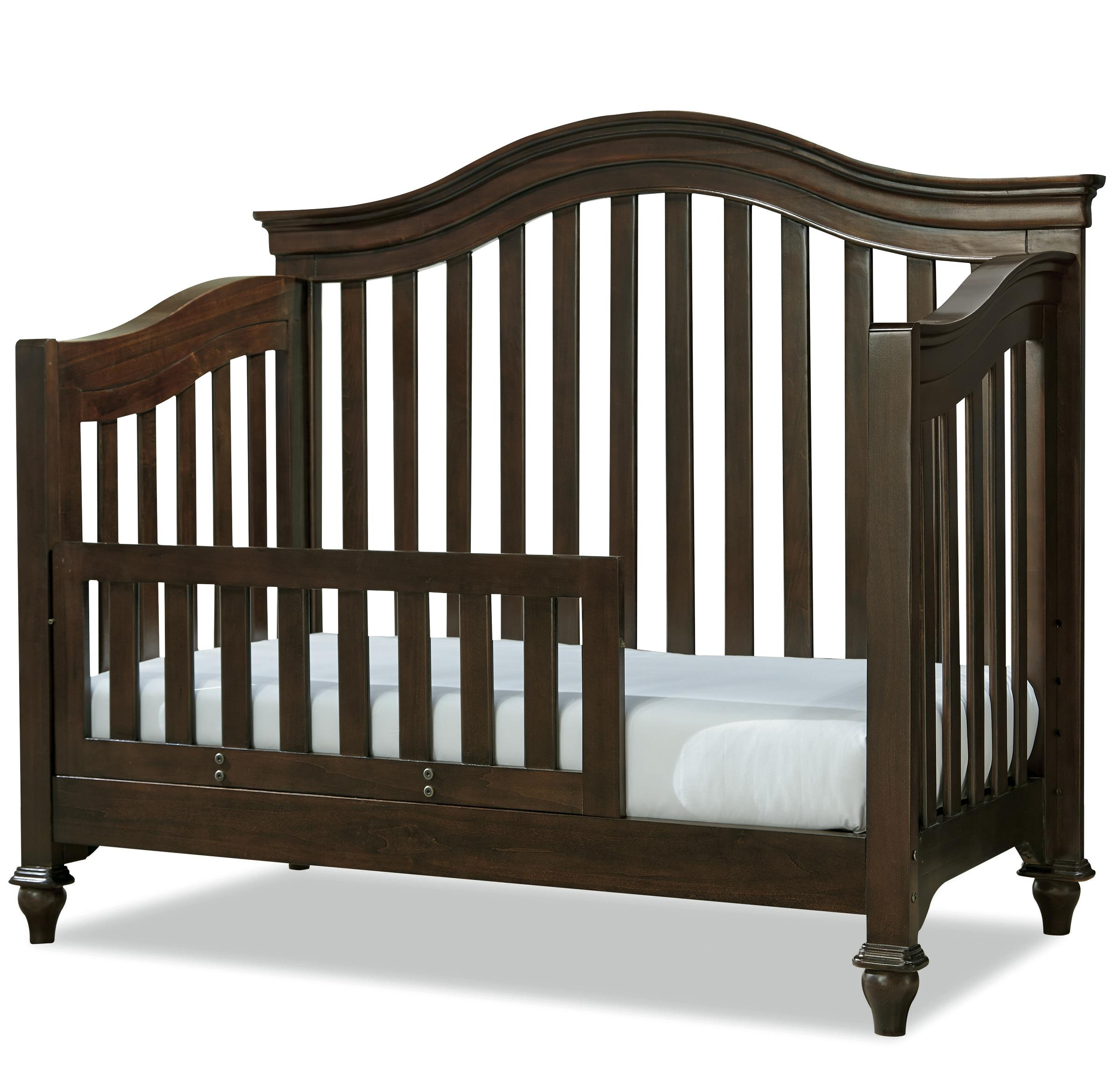 Smartstuff Classics 4.0 Convertible Crib with Toddler Rail - Item Number: 1312310+305