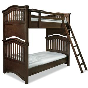 Morris Home Furnishings Classics 4.0 Twin Bunk Bed