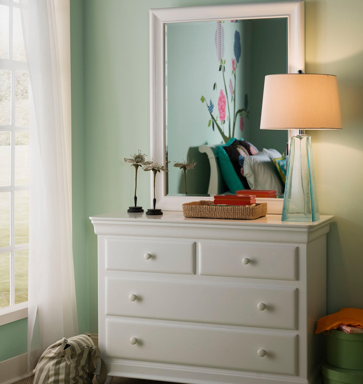 Smartstuff Classics 4.0 Single Dresser & Mirror - Item Number: 131A001+032