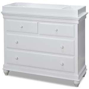 Morris Home Furnishings Sherwood Dresser with Changing Station