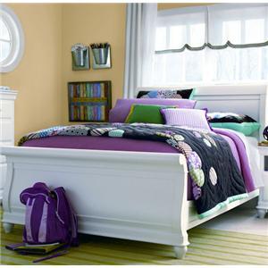 Universal Kids Smartstuff Classics 4.0 Full Sleigh Bed