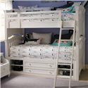 Smartstuff Classics 4.0 Twin Storage Bunk Bed - Item Number: 131A530+061