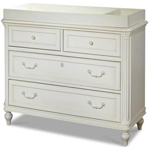 Morris Home Furnishings Greenville Dresser with Changing Station