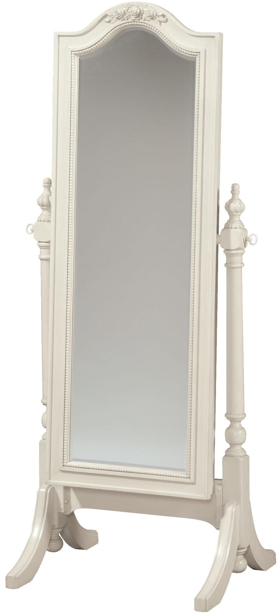 Morris Home Furnishings Greenville Greenville Mirror with Storage - Item Number: 136A034