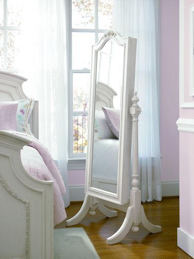 Smartstuff Gabriella Cheval Floor Mirror With Sliding