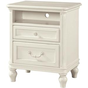 Morris Home Furnishings Greenville Greenville 2 Drawer Nightstand