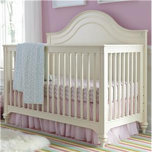 Morris Home Furnishings Greenville Convertible Crib with Toddler Rail
