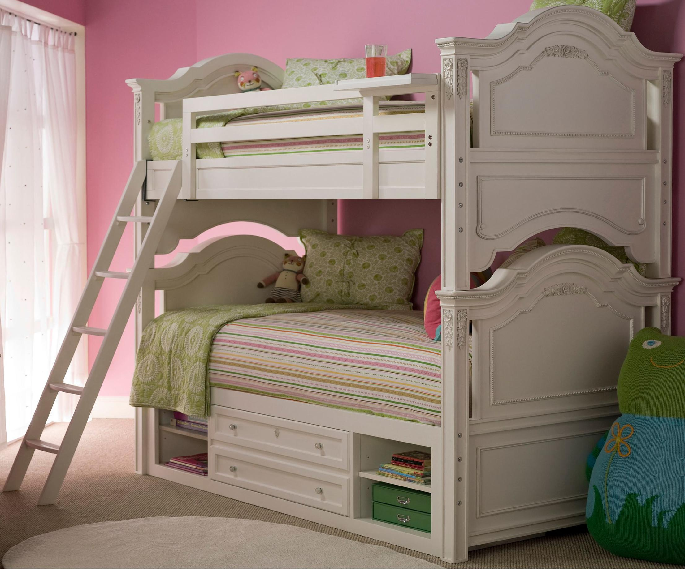 Smartstuff Gabriella Bunk Bed with Storage  - Item Number: 136A530+061