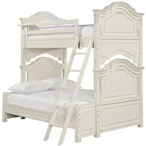 Morris Home Furnishings Greenville Twin Over Full Bunk Bed